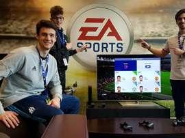 Santalo se refugió en los videojuegos cuando el fútbol le dio la espalda. Twitter/EASPORTSesp