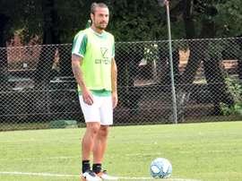 Osvaldo ricorda la tappa alla Roma. CABanfield