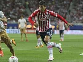 Chivas sumó una nueva victoria en el Apertura de México. EFE