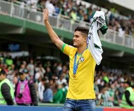 City sign Brazilian promise Yan Couto, beating Barça and Arsenal . Coritiba