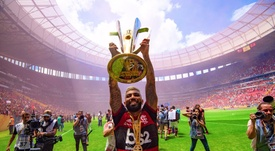 Gabigol vive uma grande fase no Flamengo. Twitter/Flamengo