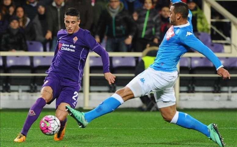 La Fiorentina quiere la continuidad de Cristian Tello. EFE
