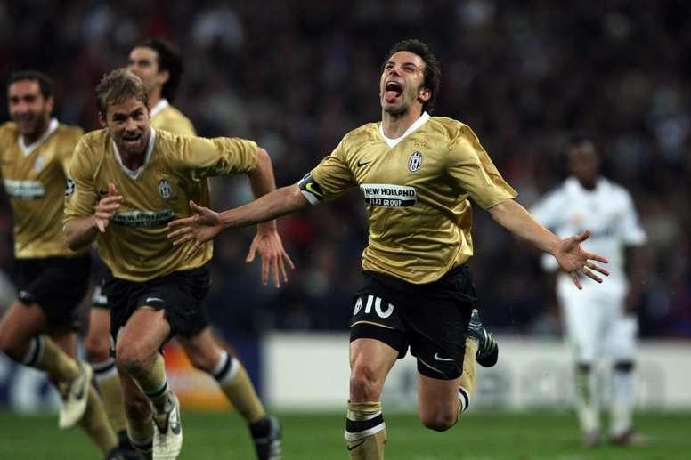 Del Piero não concorda com Buffon. Juve