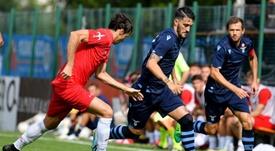 Luis Alberto seguirá varios años más en la Lazio. Twitter/OfficialSSLazio