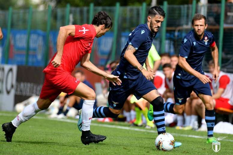 La Lazio goleó sin piedad a la Triestina. Twitter/OfficialSSLazio