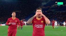 Carles Pérez debutó como titular con un gol bajo el brazo. Movistar+