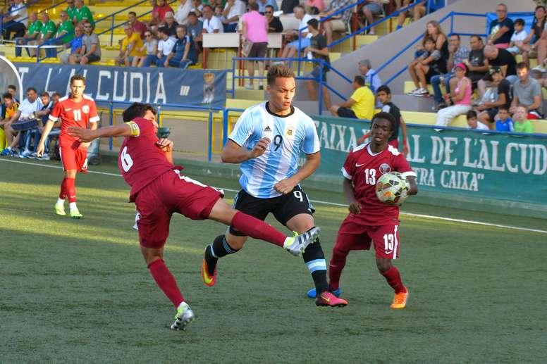Argentina Sub 20 goleó a Bolivia. EFE/Archivo