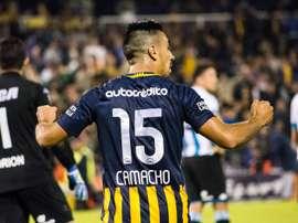 Washington Camacho pourrait changer d'air. RosarioCentral