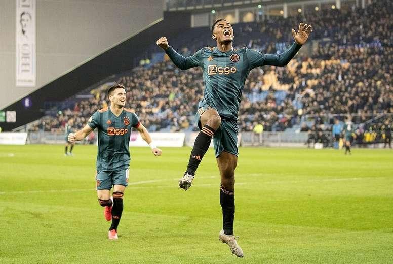 El Ajax venció 0-3. Twitter/AFCAjax