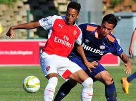 O jovem inglês está na mira das 'águias'. Arsenal