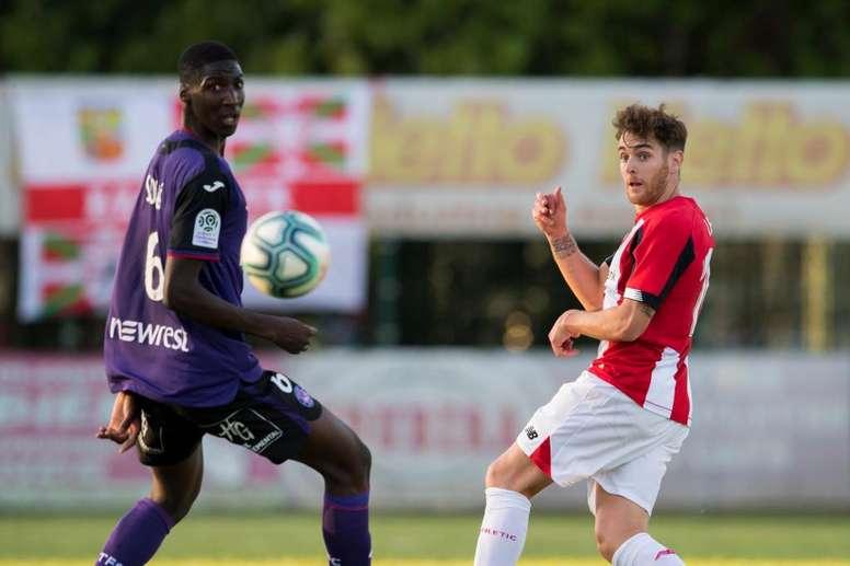 Ibai hizo el gol de la victoria en el minuto 88. Twitter/AthleticClub