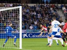 El Athletic sufrió para pasar en Tenerife. Twitter/AthleticClub