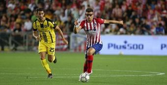 'Je veux être dans l'équipe de Simeone, à l'Atlético.' Twitter/Atleti