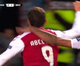 Abel Ruiz debutó, lo hizo como titular y se estrenó con un buen gol. Movistar+