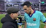 Busquets est revenu sur la défaite du Barça. Movistar+