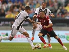 La Juventus no dio opción a un Bayern muy voluntarioso. Twitter/FCBayern