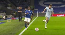 Bayern have made a bid for Lamptey. AFP