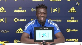 Adekanye volverá a verse las caras con el Barcelona. Captura/YouTube/CádizClubdeFútbol