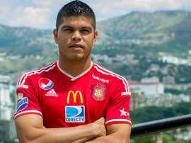 Edder Farías metió un doblete ante Carabobo. CaracasFutbolClub