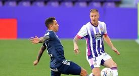 Valladolid y Celta empataron a uno. LaLiga