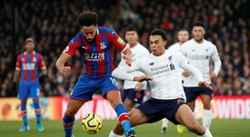 Liverpool come away with the win against Crystal Palace. Twitter/CPFC
