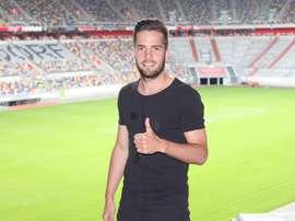 Niko Giesselmann jugará esta temporada en el Fortuna. F95