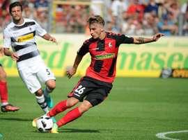 Maximilian Philipp pourrait renforcer Tottenham la saison prochaine. SCFreiburg/AchimKeller