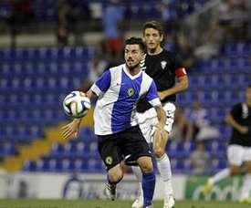 Miñano calificó el partido ante el Lleida como de mucha trascendencia. HerculesDeAlicante