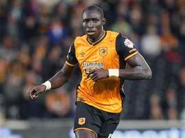 Diame in action for former club Hull City. HullCityTigers
