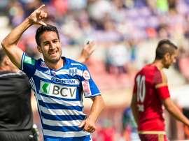 Samuele Campo ha sido el primer goleador de la temporada en Suiza. Lausanne-Sport