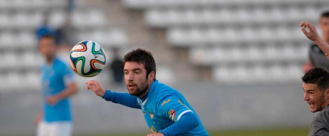 Ekhi Senar ha jugado las dos últimas campañas en el conjunto ilerdense. LleidaEsportiu