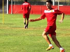 Damià Sabater ya es jugador del Espanyol B. RCDMallorca