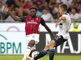 After an unsuccessful spell at Chelsea, Bakayoko is now struggling at Milan. EFE