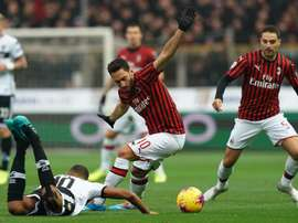 Milan venceu na insistência. Twitter/acmilan