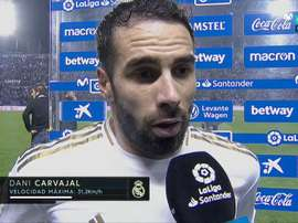 Carvajal criticised the inconsistency when it comes to giving penalties for handballs. Movistar+
