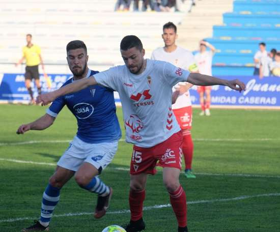 San Fernando y Murcia empataron a tres goles. Twitter/realmurciacfsad