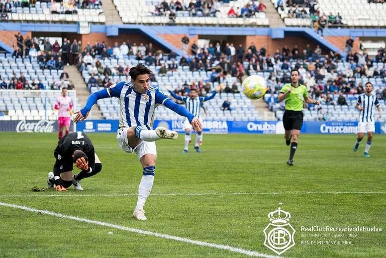 El Recre empató con el Villarrobledo. Twitter/recreoficial
