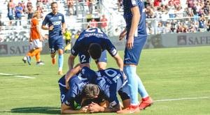 Darek Formella anotó un gol que difícilmente olvidará. Twitter/SacRepublicFC