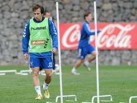 Raúl Cámara elogió al nuevo técnico del Tenerife. EFE