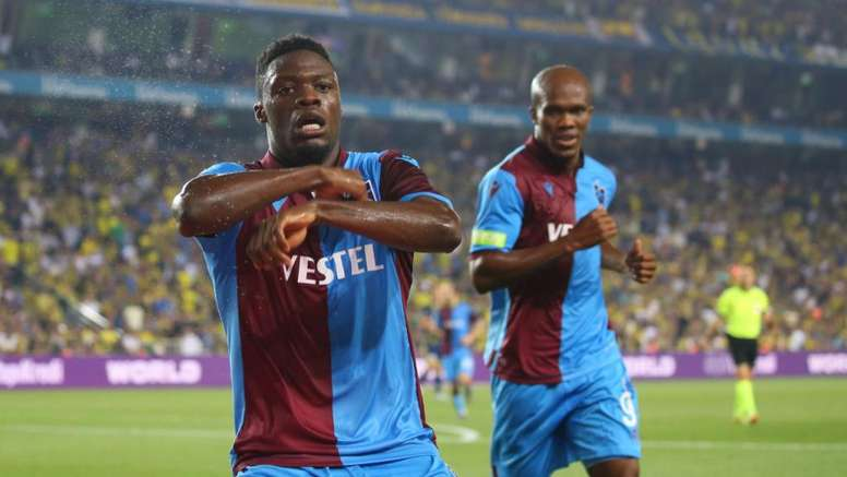 He could leave Trabzonspor. Trabzonspor