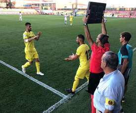 Cazorla reapareció tras una eterna lesión. Twitter/VillarrealCF