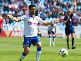 Ángel Rodríguez estará en el choque ante el Almería. RealZaragoza