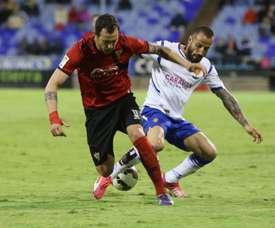Mario podría estar viviendo sus últimas horas como futbolista del Zaragoza. Twitter