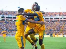 Tigres logró tres puntos vitales. Twitter/TigresOficial