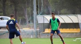 Eddy Silvestre ha jugado esta temporada en el Alcorcón. CadizCF/Archivo