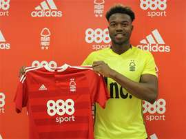 Ariyibi ya es del Nottingham Forest. NottinghamForest