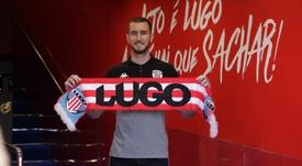 Peybernes rejoint Lugo. . Twitter/CDeportivoLugo