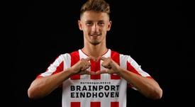 Boscagli será del PSV hasta 2023. Twitter/PSV