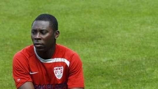 Freddy Adu está a un paso de volver a sentirse futbolista de nuevo. AFP/Archivo