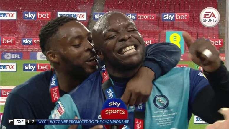 Adebayo Akinfenwa ha logrado un nuevo ascenso en el Wycombe Wanderers. SkySports
